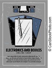 Internet electronics and smart devices - Electronic devices...