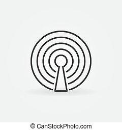 internet fili, icona
