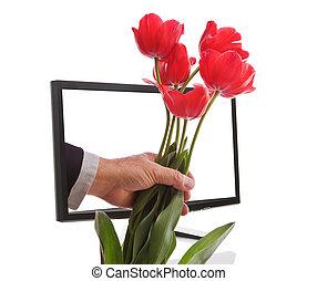 Internet Flowers