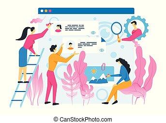internet, forum, activité