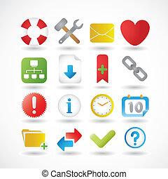 Internet Icons Series Set 2