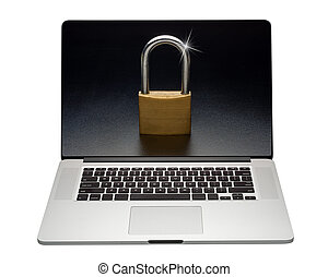 Internet laptop security, isolated