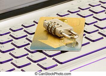 internet, lebonyolítás, biztonság, fogalom