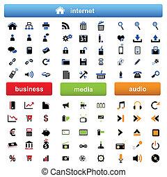 internet, multimédia, business