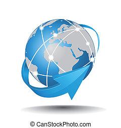 internet network - EPS 10