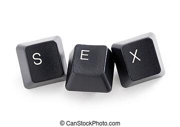 internet, o, sexo del cyber