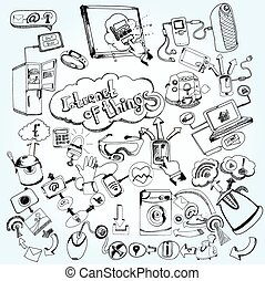 Internet Of Things Doodles