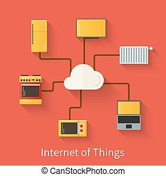 Internet of things illustration