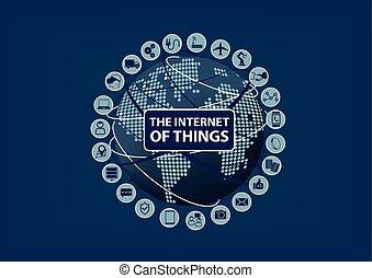 Internet of Things (IoT) word