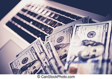 Internet Online Scam Money