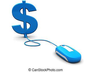 internet, pengar