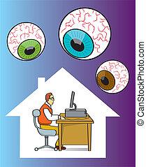 internet, privacidade