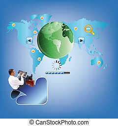 Internet - Programming design business website for network