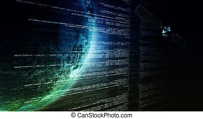 Internet Satellite Connection