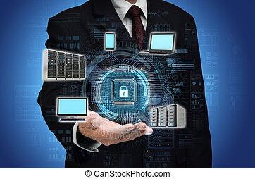 Internet Secured Network