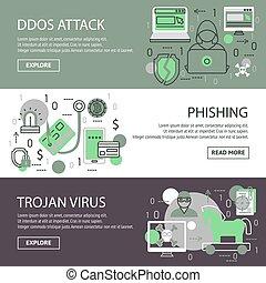 Internet Security Banner Set