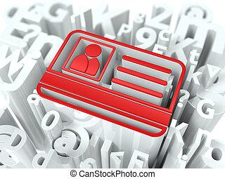 Internet Security Concept on Alphabet Background.