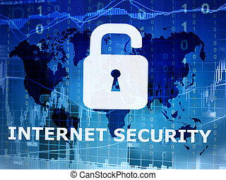 internet security conceptual image