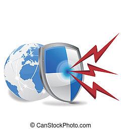 internet security - EPS 10