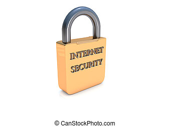 Internet security lock