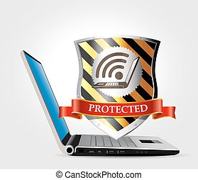 Internet security - safety network
