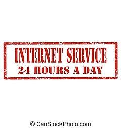 Internet Service-stamp
