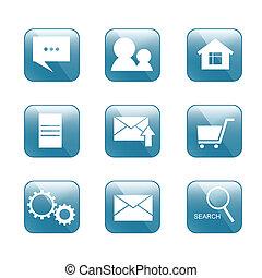 internet-shop, icône
