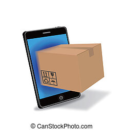 internet shopping with smart phone
