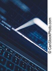 Internet Technologies Backdrop