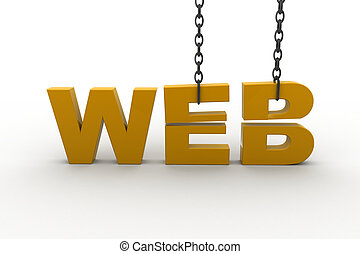 Internet Technology Concept web