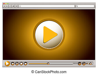 internet, video, browser, kontrollen