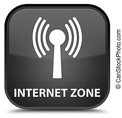Internet zone (wlan network) special black square button