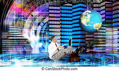 internet.globalization, conexão, tecnologia