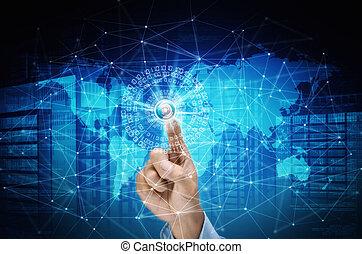internetverbindung, begriff