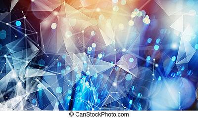 internetverbindung, mit, optisch, fiber., begriff, von, schnell, internet.