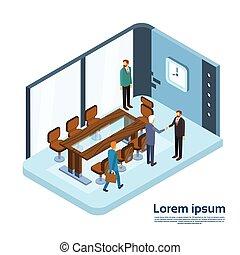 interno, affari moderni, persone ufficio