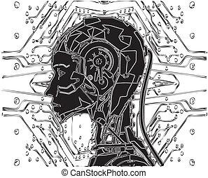 interno, androide, tecnología, revela