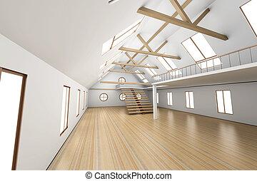 interno, architettura