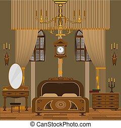 interno, camera letto