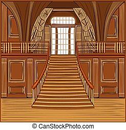 interno, castello