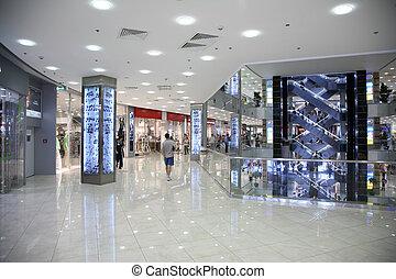interno, commerciale, centro