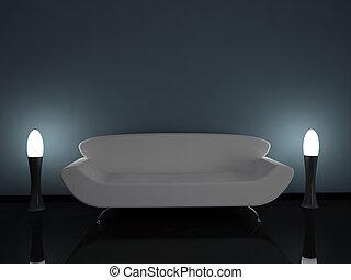 interno, divano