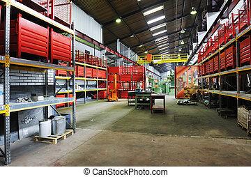 interno, fabbrica