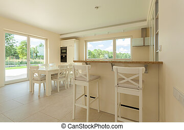 interno, luminoso, cucina