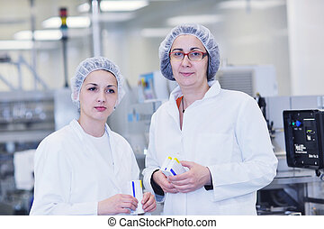 interno, medico, produzione, fabbrica