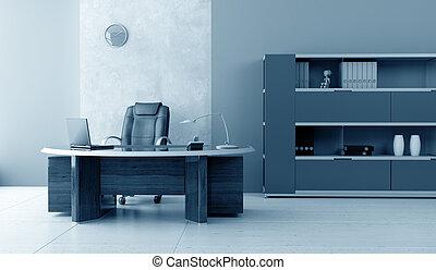 interno, moderno, ufficio