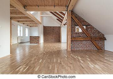 interno, moderno, vuoto