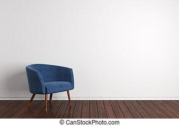 interno, poltrona, moderno