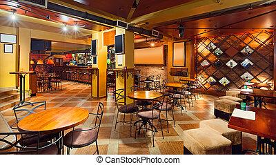 interno, pub