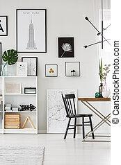 interno, sala da pranzo, galleria